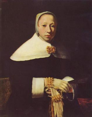Jan Vermeer. Female portrait