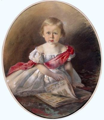 Иван Николаевич Крамской. Портрет неизвестной (возможно, портрет дочери художника Софии)