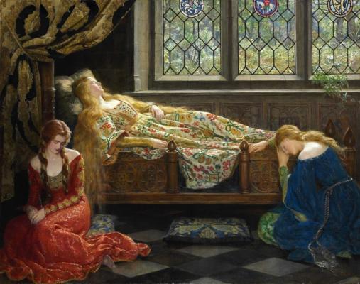 Джон Кольер. Спящая красавица. 1921