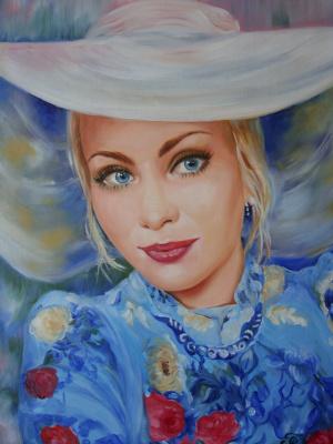 Хельга Эдуардовна Григорьева. Oil on canvas.