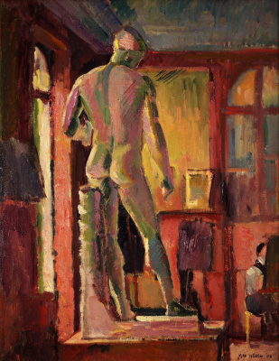 Max Weber. Apollo in the Studio of Matisse