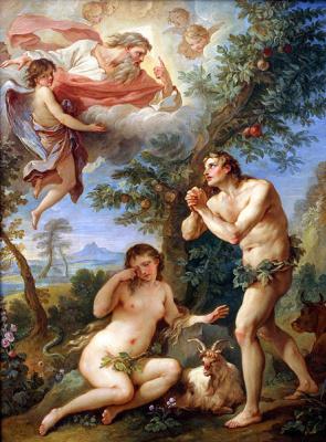Майкл Вайнберг. Адам и Ева в саду
