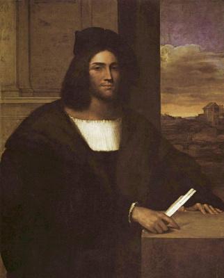 Себастьяно дель Пьомбо. Мужской портрет