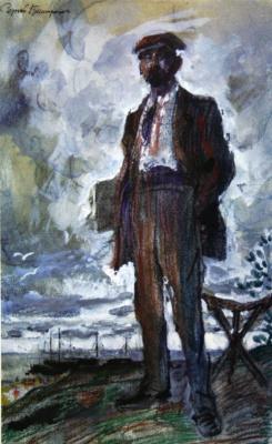 Сергей Арсеньевич Виноградов. Портрет художника В.В. Переплетчикова