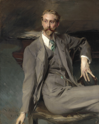 Giovanni Boldini. Portrait of Lawrence Alexander (Peter) Harrison