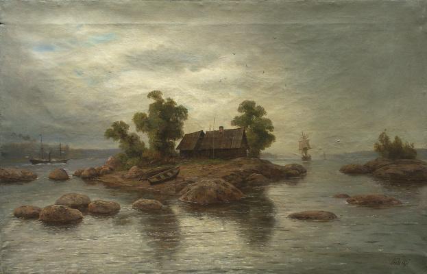 Lev Feliksovich Lagorio. The farm on the island