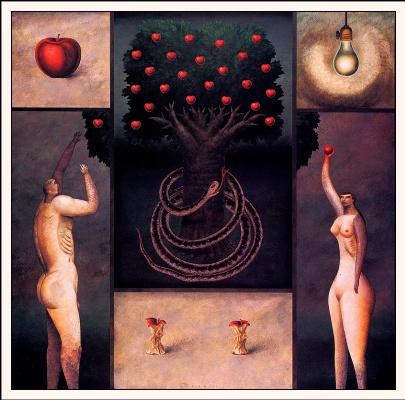 Блэр Дравсон. Адам и Ева