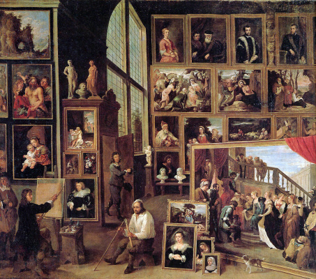 David Teniers the Younger. Gallery Archduke Leopold in Brussels