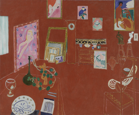Henri Matisse. Red Studio