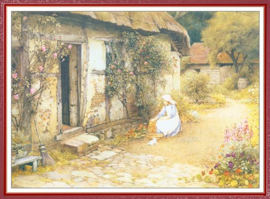Чарльз Эдвард Уилсон. Сбор цветов