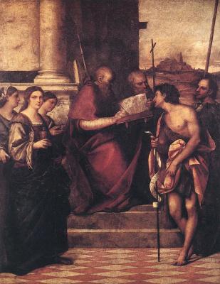 Себастьяно дель Пьомбо. Святой Иоанн Златоуст