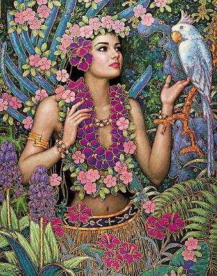 Карл Банг. Богиня лета
