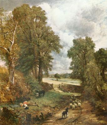 John Constable. Arable land