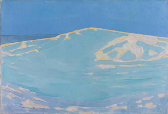Piet Mondrian. Sand dunes in Domburg