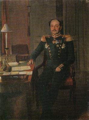 Pavel Andreevich Fedotov. Portrait of SS Krylov