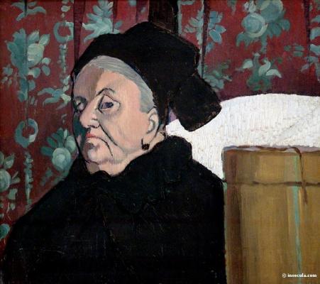 Emil Bernard. An elderly woman