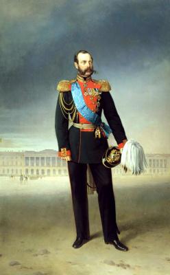 Егор Иванович Ботман. Император Александр II