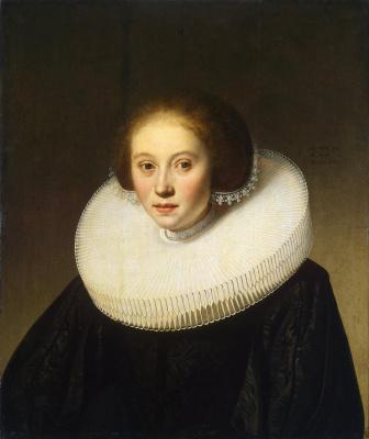 Jakob Gerrits Cape. Portrait of a young girl