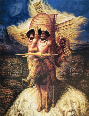 Octavio Ocampo. Visions Of Don Quixote