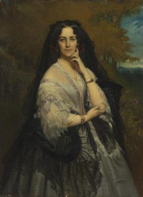 Franz Xaver Winterhalter. Zinaida Ivanovna Yusupova, nee Naryshkina