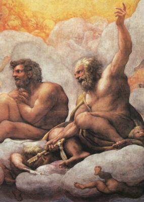Антонио Корреджо. Апостолы Петр и Павел