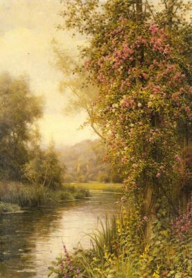 Луи Астон Найт. Цветение лозы по извилистому ручью