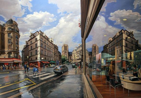 Роберт Неффсон. Нотр-Дам. Париж
