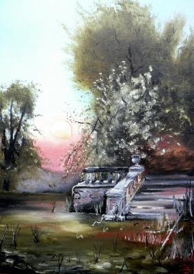 Сергей Николаевич Ходоренко-Затонский. Overgrown pond