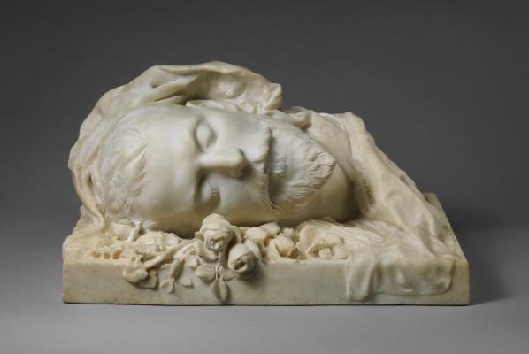Сара Бернар. Погребальный портрет Жака Дамала