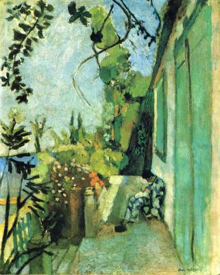 Henri Matisse. Terrace in Saint-Tropez