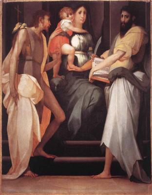 Россо Фьорентино. Богородица