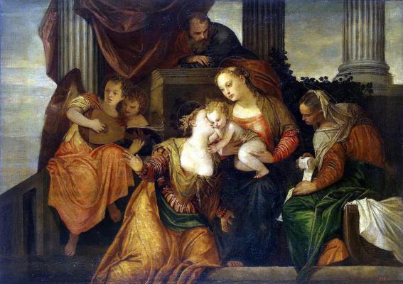 Paolo Veronese. Saint Catherine's betrothal