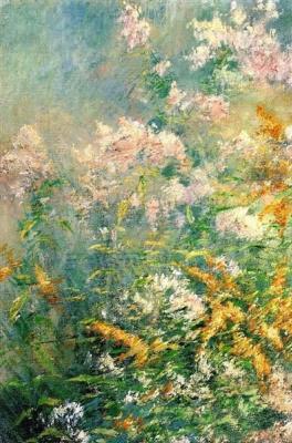 Джон Генри Твахтман. Луговые цветы