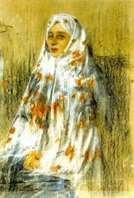 Alexander Murashko. Portrait Of Ekaterina Nikolaevna Mochalovoj