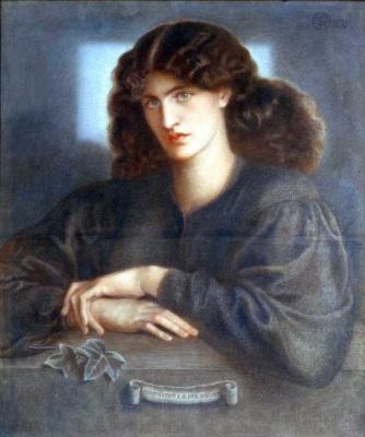 Данте Габриэль Россетти. Женщина у окна (Леди печали)