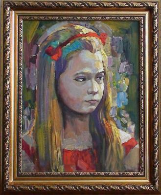 Igor Veniaminovich Bondarenko. Autumn portrait