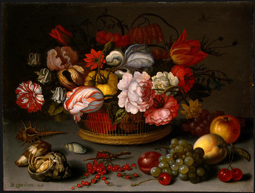 Бальтазар ван дер Аст. Цветы в корзине