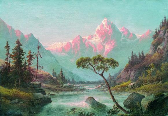 Lev Feliksovich Lagorio. The Vosges mountains