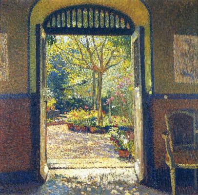 Henri Marten. Garden