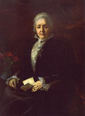 Анна Клампк. Портрет Марии Копли
