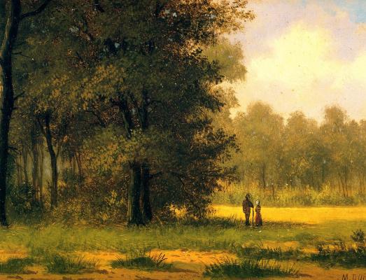 Франс Донат. Ричард в лесу