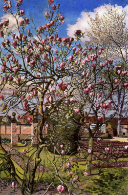 Stanley Spencer. Blue sky