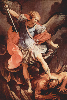 Guido Reni. The Archangel Michael