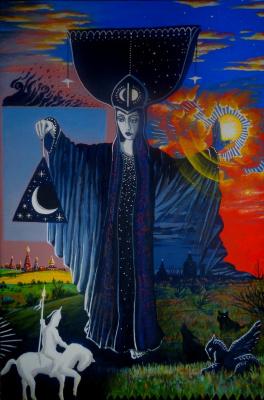 """Илья Геннадьевич Борисов. Scythian Tarot. """"Darkness"""""""