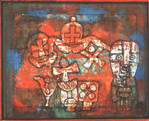Paul Klee. Chinese porcelain