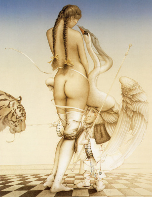 Michael Parkes. Puppeteer