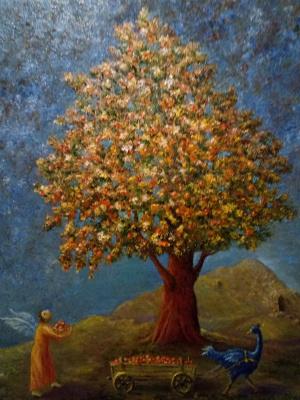 Evgeny Yurievich Miroshnik. Gathering Paradise apples