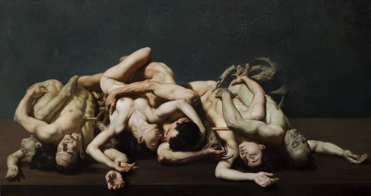 Roberto Ferri. Narcissus