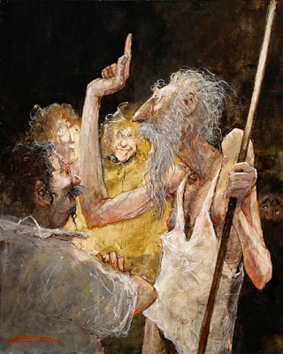 Marcel Pajot. Curse. Don Quixote