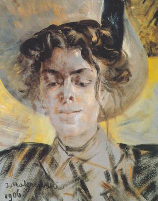 Jacek Malchevsky. Portrait of Maria Balov